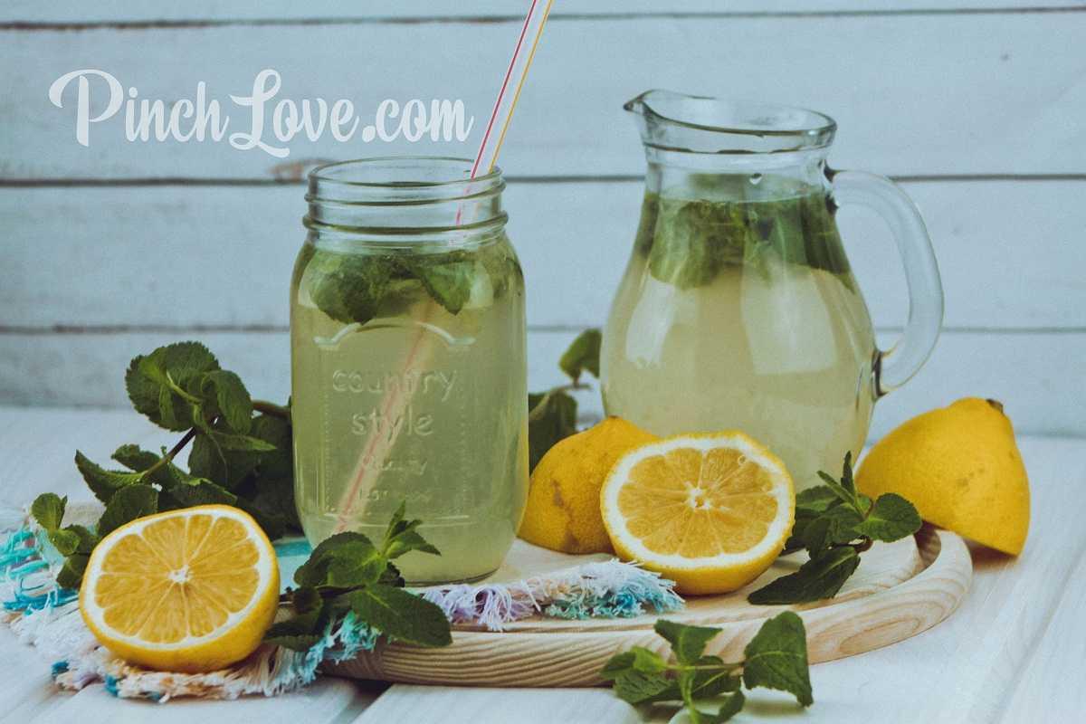 Лимонад из лимона и мяты – домашний