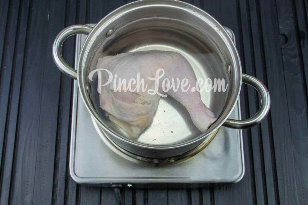 Крем-суп из красной чечевицы - шаг 1