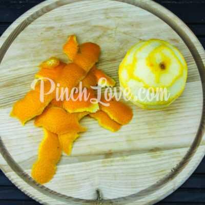 Апельсиновый лимонад с лимоном - шаг 1-1