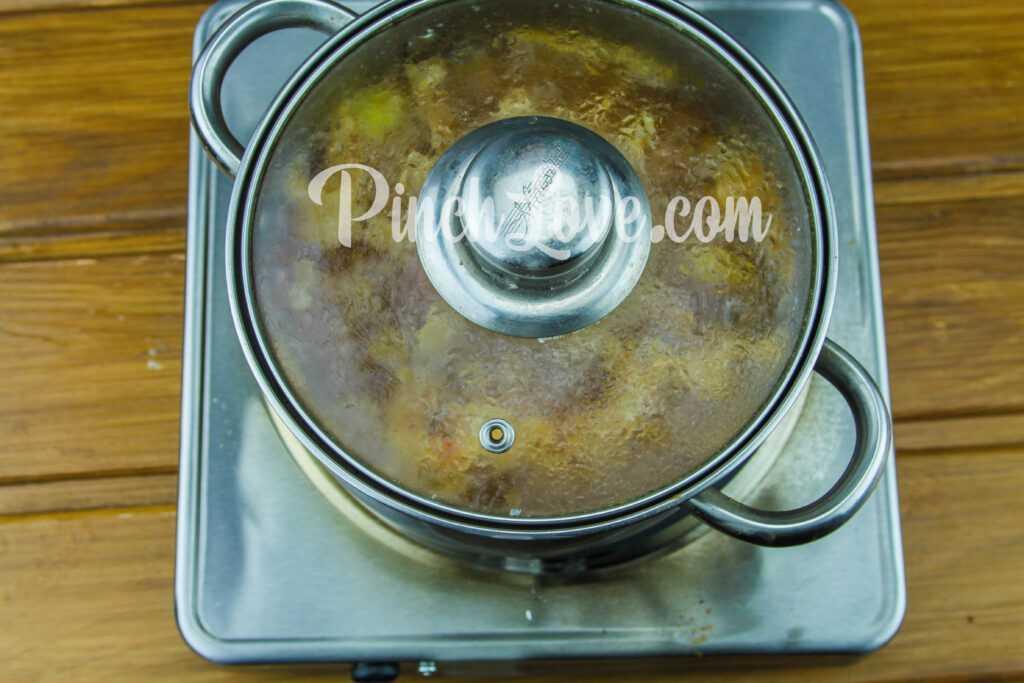 Жаркое из свинины с картошкой - шаг 10