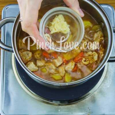 Жаркое из свинины с картошкой - шаг 11-1