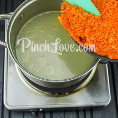 Крем-суп из красной чечевицы - шаг 13-1