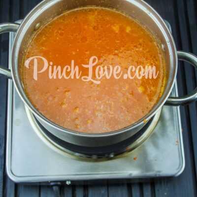 Крем-суп из красной чечевицы - шаг 13-2