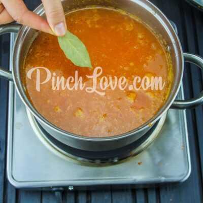 Крем-суп из красной чечевицы - шаг 14-1