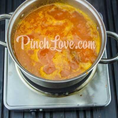 Крем-суп из красной чечевицы - шаг 14-2
