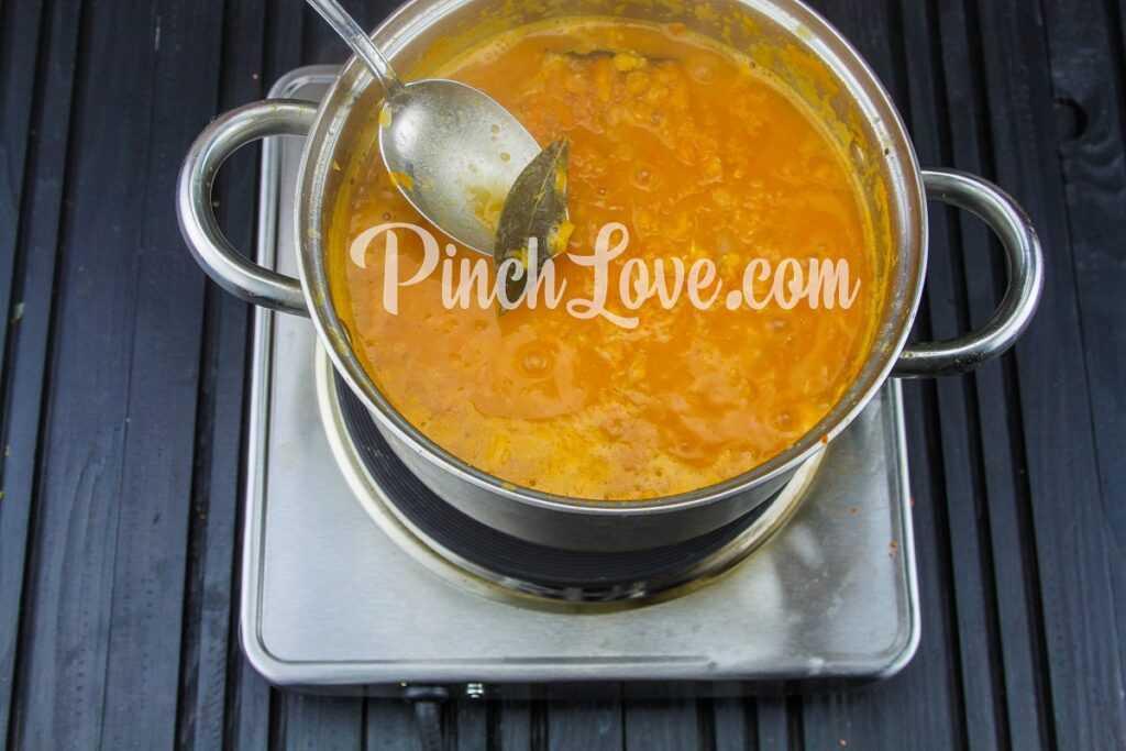 Крем-суп из красной чечевицы - шаг 15