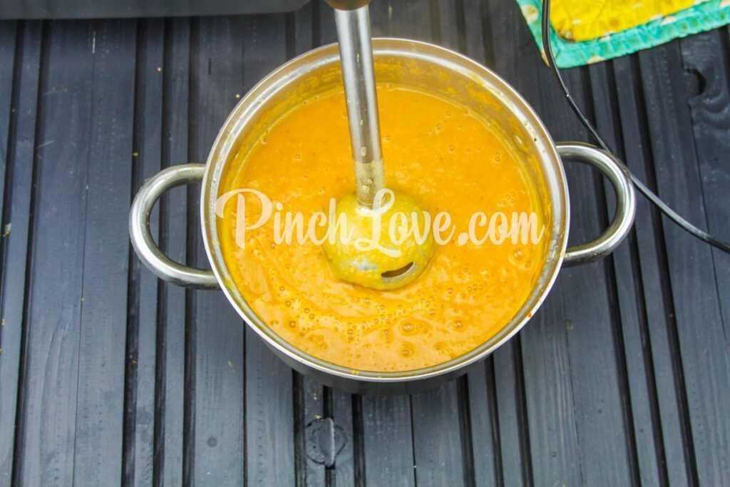 Крем-суп из красной чечевицы - шаг 16
