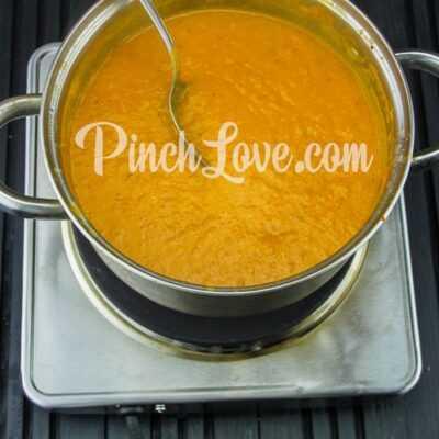 Крем-суп из красной чечевицы - шаг 17-2