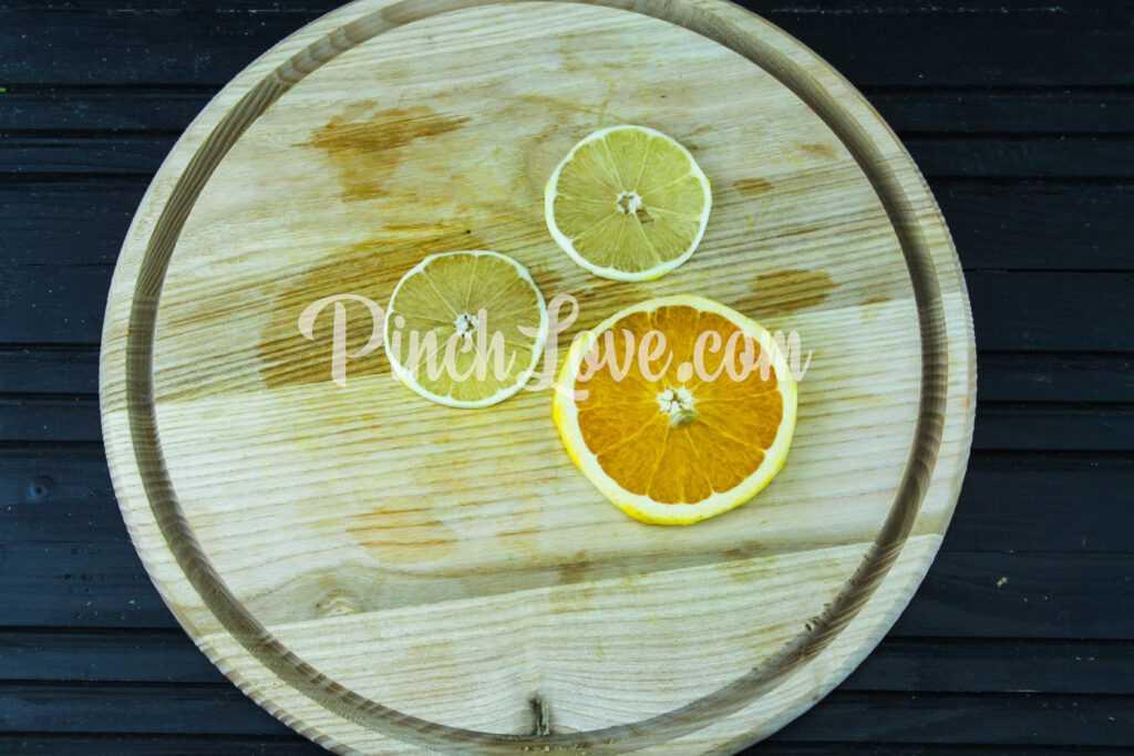 Апельсиновый лимонад с лимоном - шаг 2