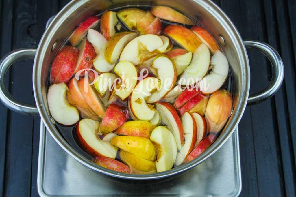 Яблочный компот с корицей - шаг 2