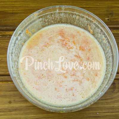Морковные кексы с имбирём и корицей - шаг 2-2