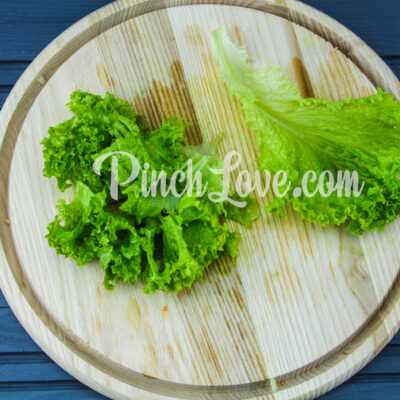 Салат с авокадо и тунцом - шаг 2-3