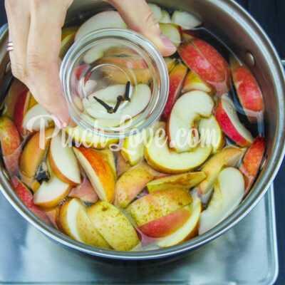 Яблочный компот с корицей - шаг 3-1