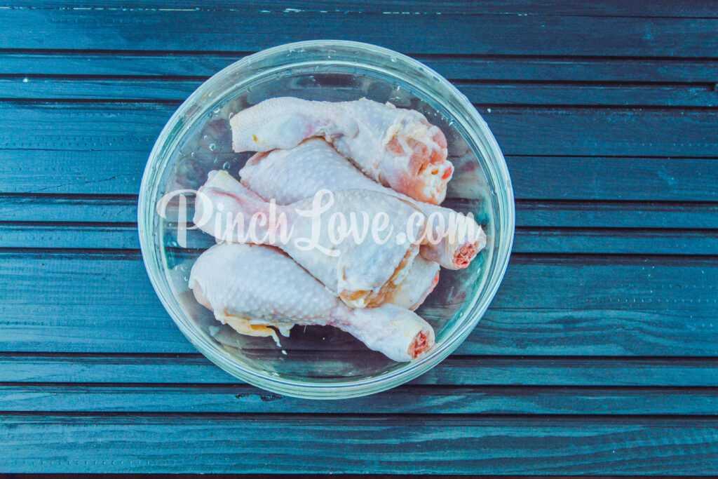 Куриные ножки в соево-медовом соусе - шаг 3