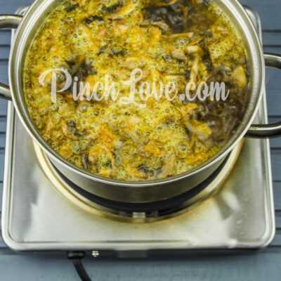 Грибной суп из шампиньонов - шаг 5-3