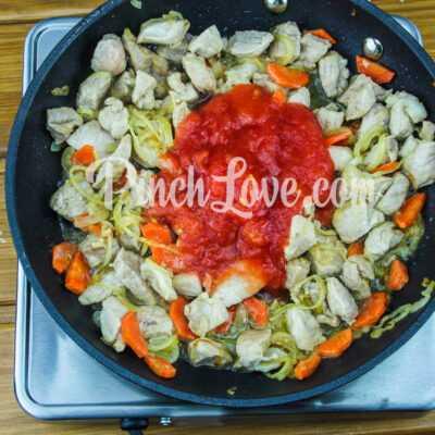 Жаркое из свинины с картошкой - шаг 6-1