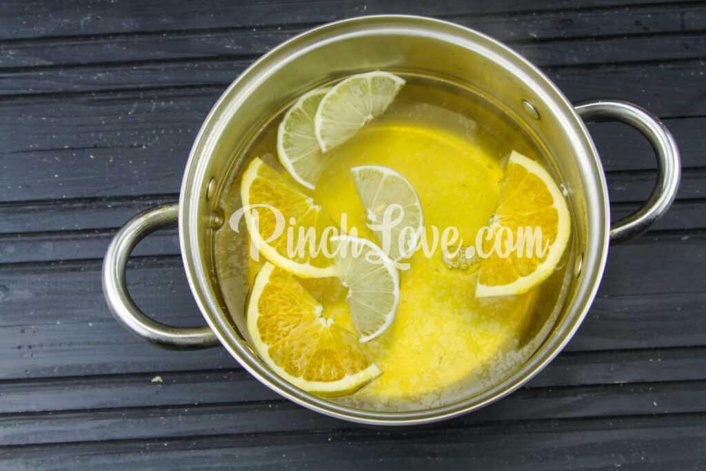 Апельсиновый лимонад с лимоном - шаг 6
