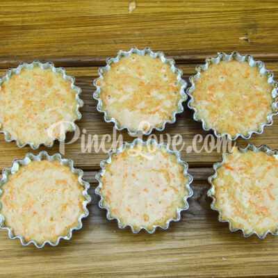 Морковные кексы с имбирём и корицей - шаг 6-2