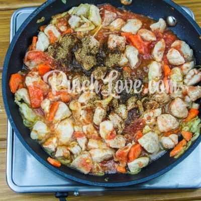 Жаркое из свинины с картошкой - шаг 6-2
