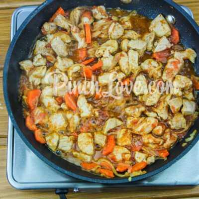 Жаркое из свинины с картошкой - шаг 6-3