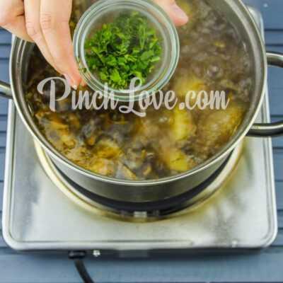 Грибной суп из шампиньонов - шаг 7-1