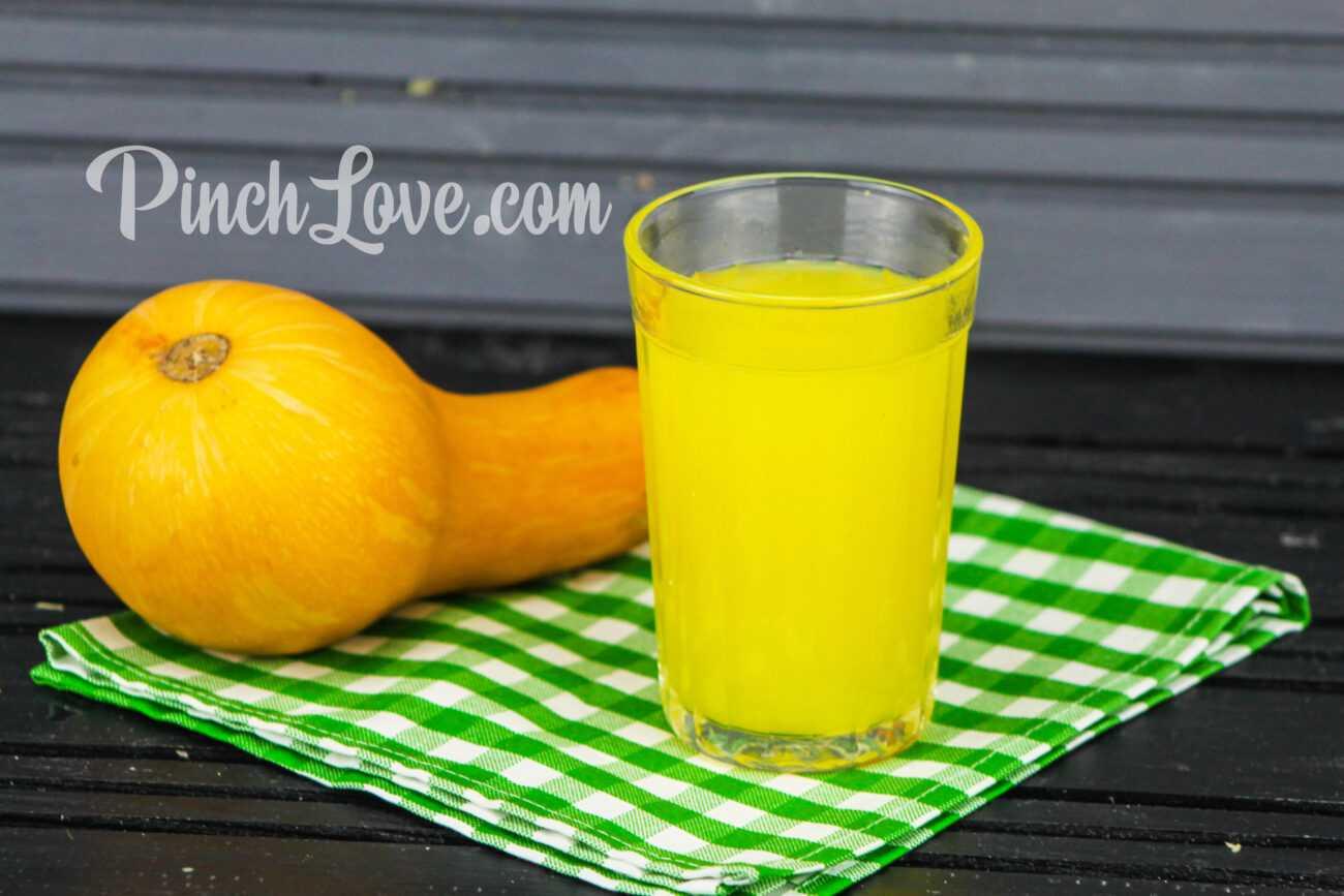 Тыквенный кисель с апельсином