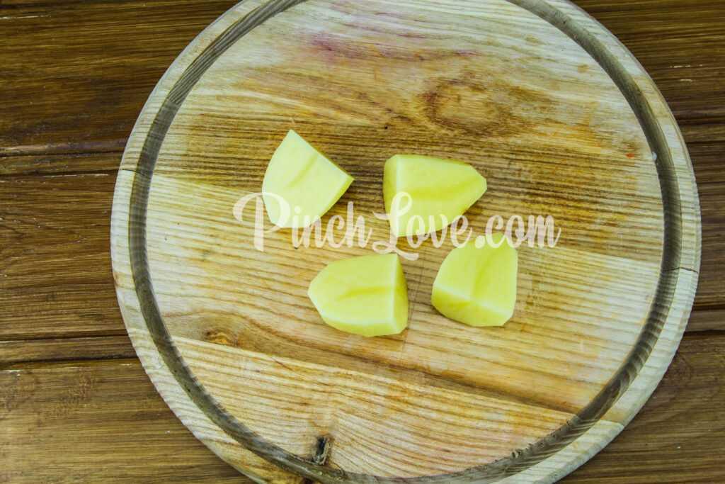 Картофельное пюре с молоком - шаг 1