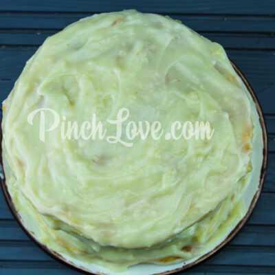 Торт «Наполеон» с заварным кремом - шаг 10-2