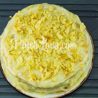 Торт «Наполеон» с заварным кремом - шаг 10-3