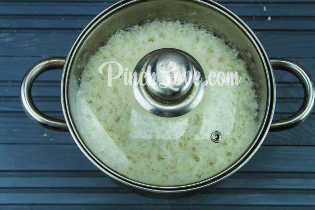 Рис для суши - шаг 3