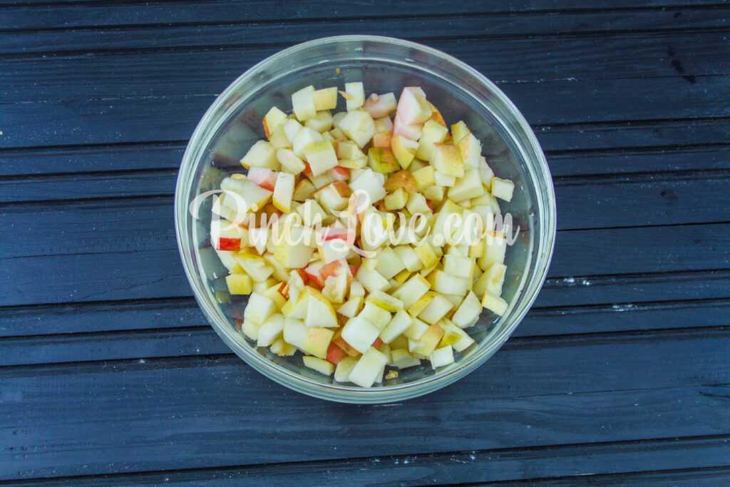 Яблочный штрудель - шаг 3