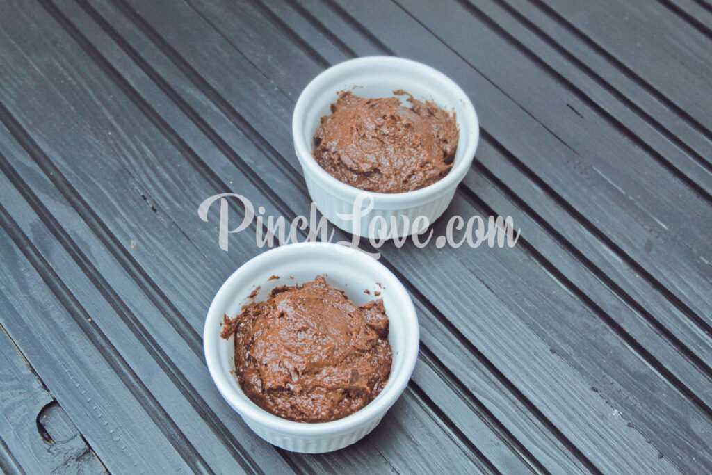 Шоколадный кекс в микроволновке - шаг 4