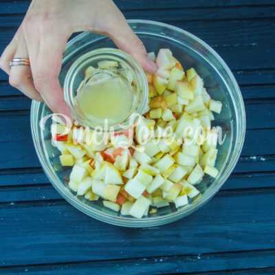 Яблочный штрудель - шаг 4-1