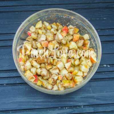 Яблочный штрудель - шаг 4-2