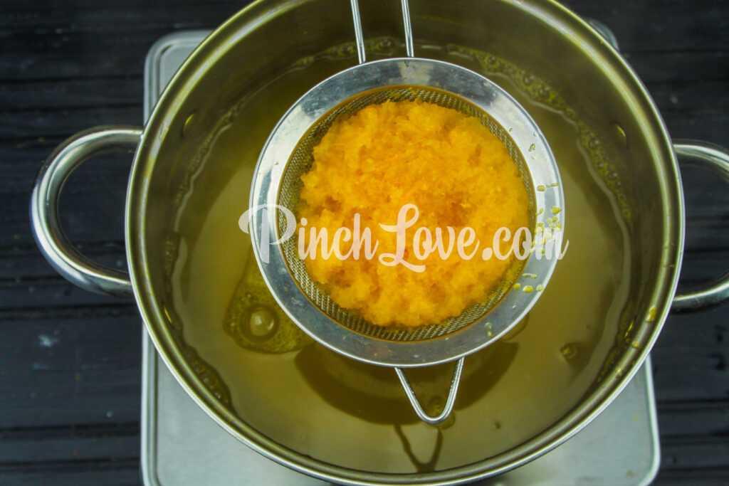 Тыквенный кисель с апельсином - шаг 5