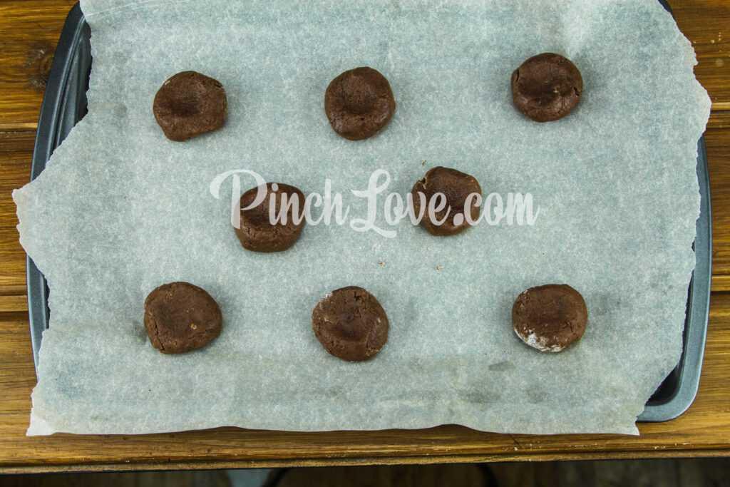 Шоколадное печенье - шаг 5