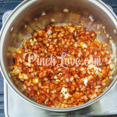 Тефтели в томатно-сметанном соусе - шаг 5-2