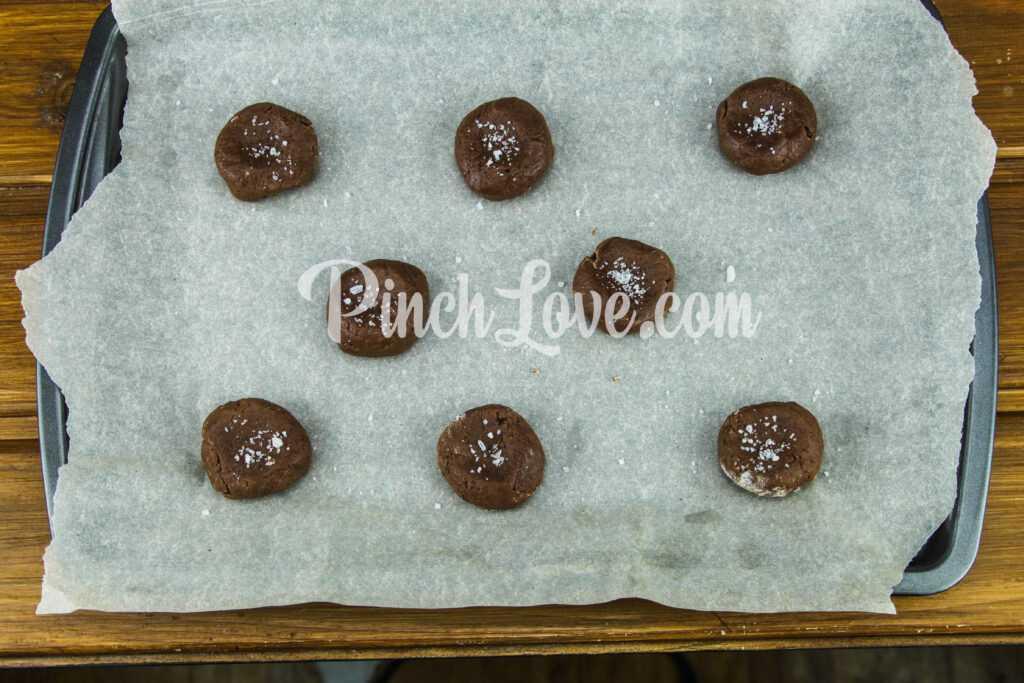 Шоколадное печенье - шаг 6