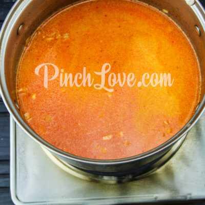 Тефтели в томатно-сметанном соусе - шаг 6-2