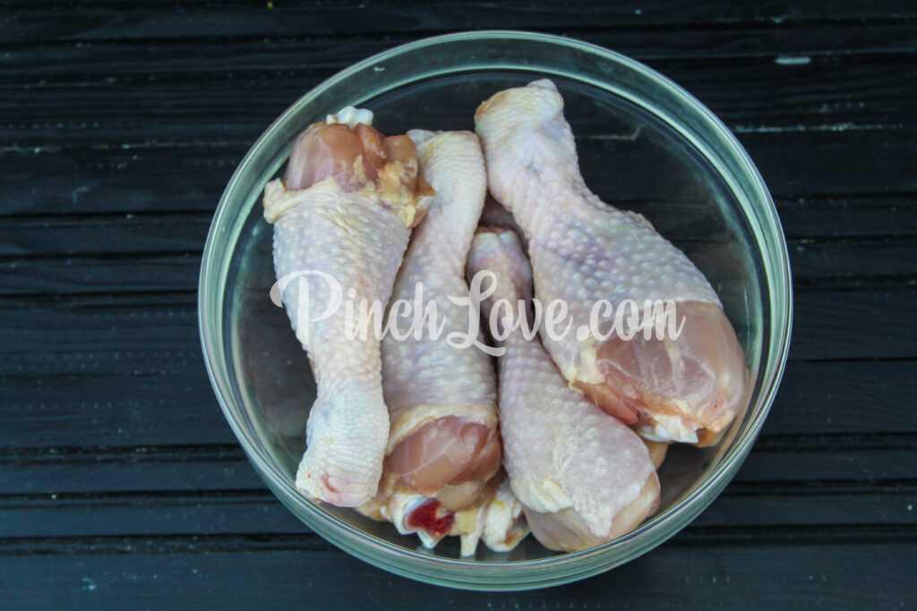 Куриные голени в рукаве - шаг 1