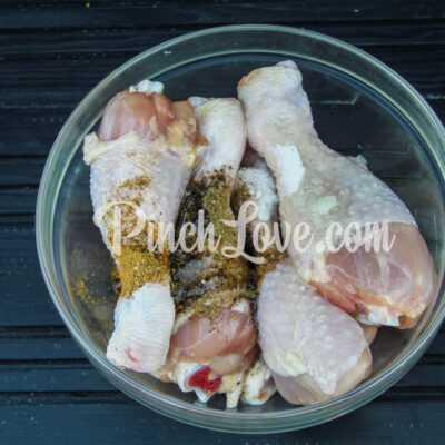 Куриные голени в рукаве - шаг 2-1