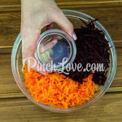Овощной салат «Щетка» - шаг 2-1