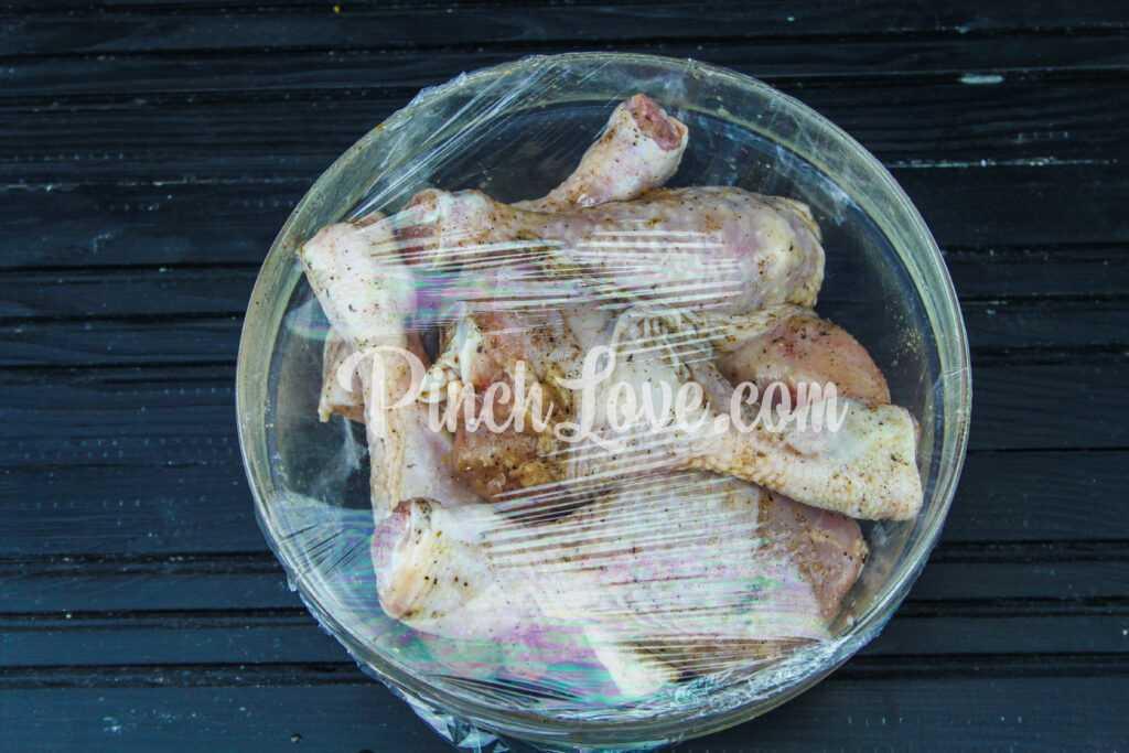 Куриные голени в рукаве - шаг 3