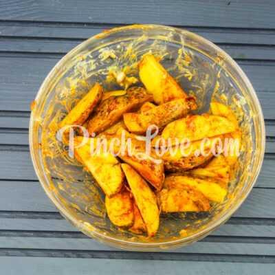 Картофель айдахо - шаг 3-2