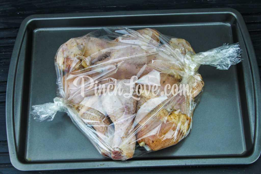 Куриные голени в рукаве - шаг 4