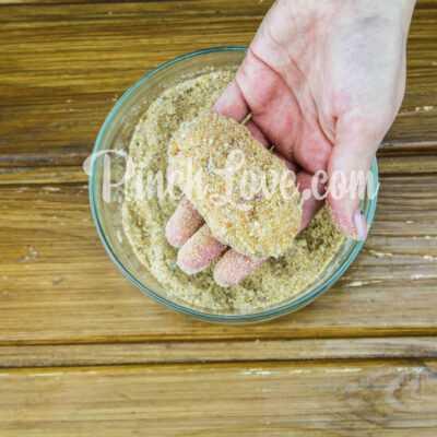 Куриные котлеты с яблоком, запечённые в духовке - шаг 5-2