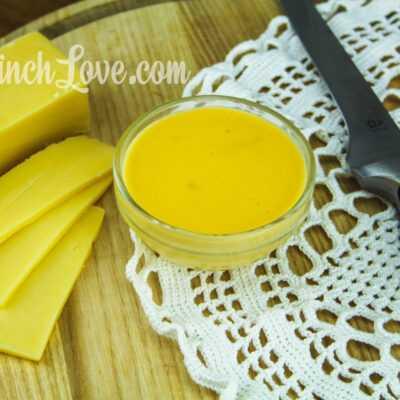 Сырный соус (Чеддер)