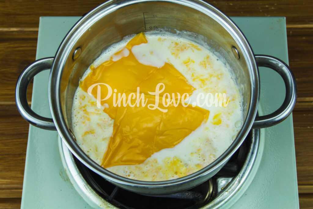 Сырный соус (Чеддер) - шаг 1