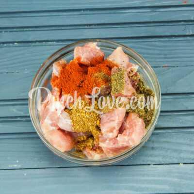 Рагу из свинины, картофеля и тыквы - шаг 1-1