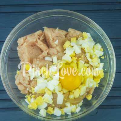 Куриные тефтели в духовке - шаг 2-1